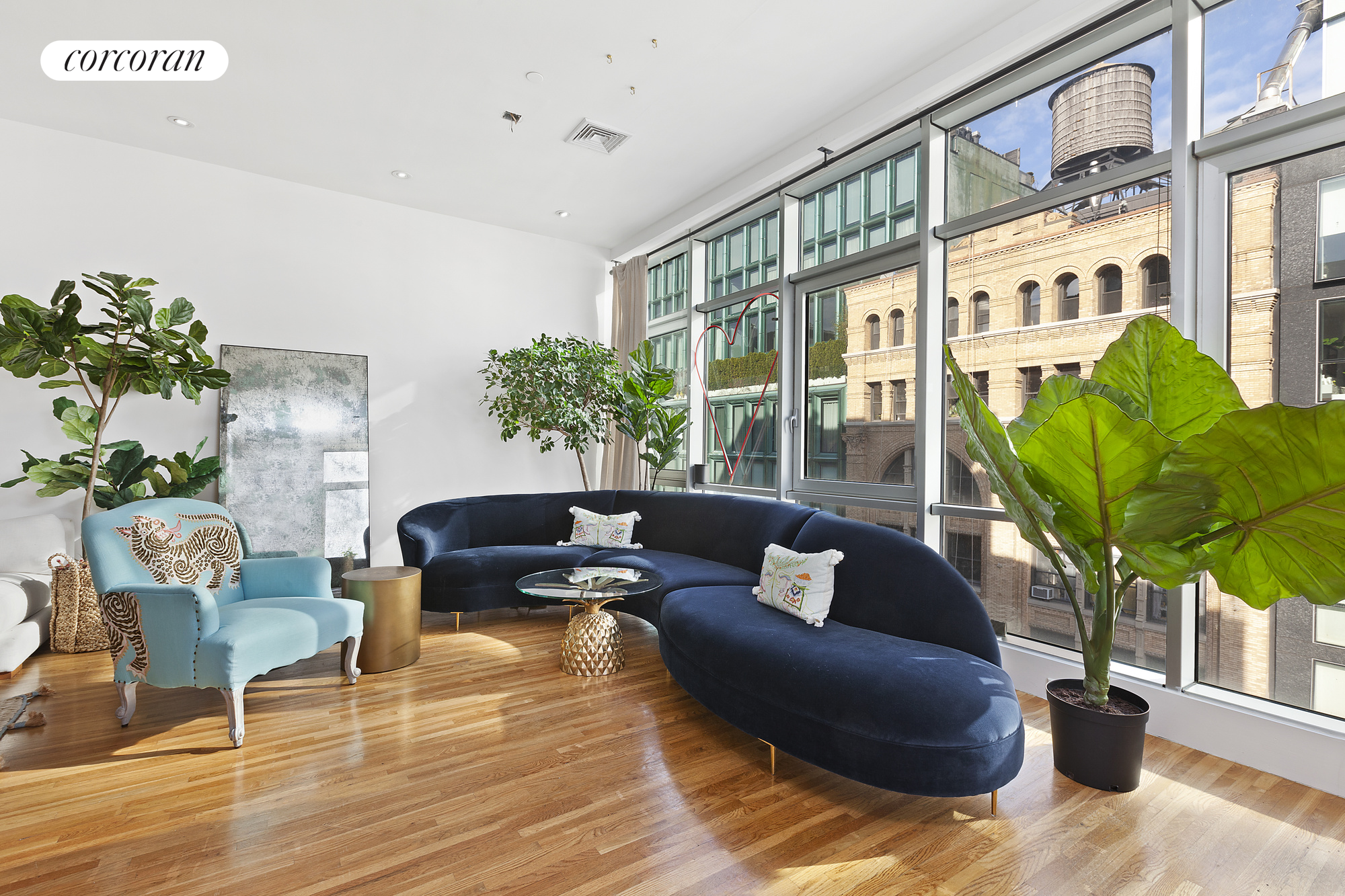 45 Bond Street, 5 FL, Living Room