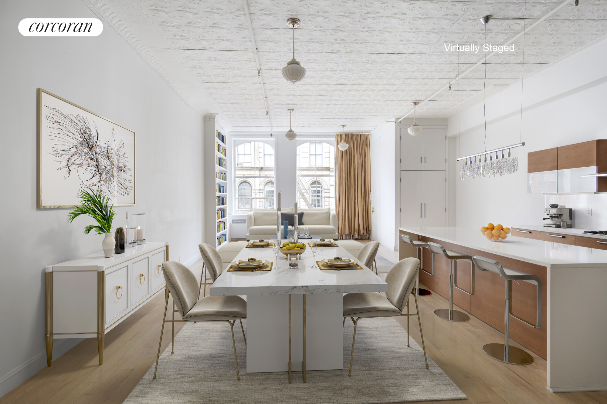 463 Broome Street, 3, Dining Room