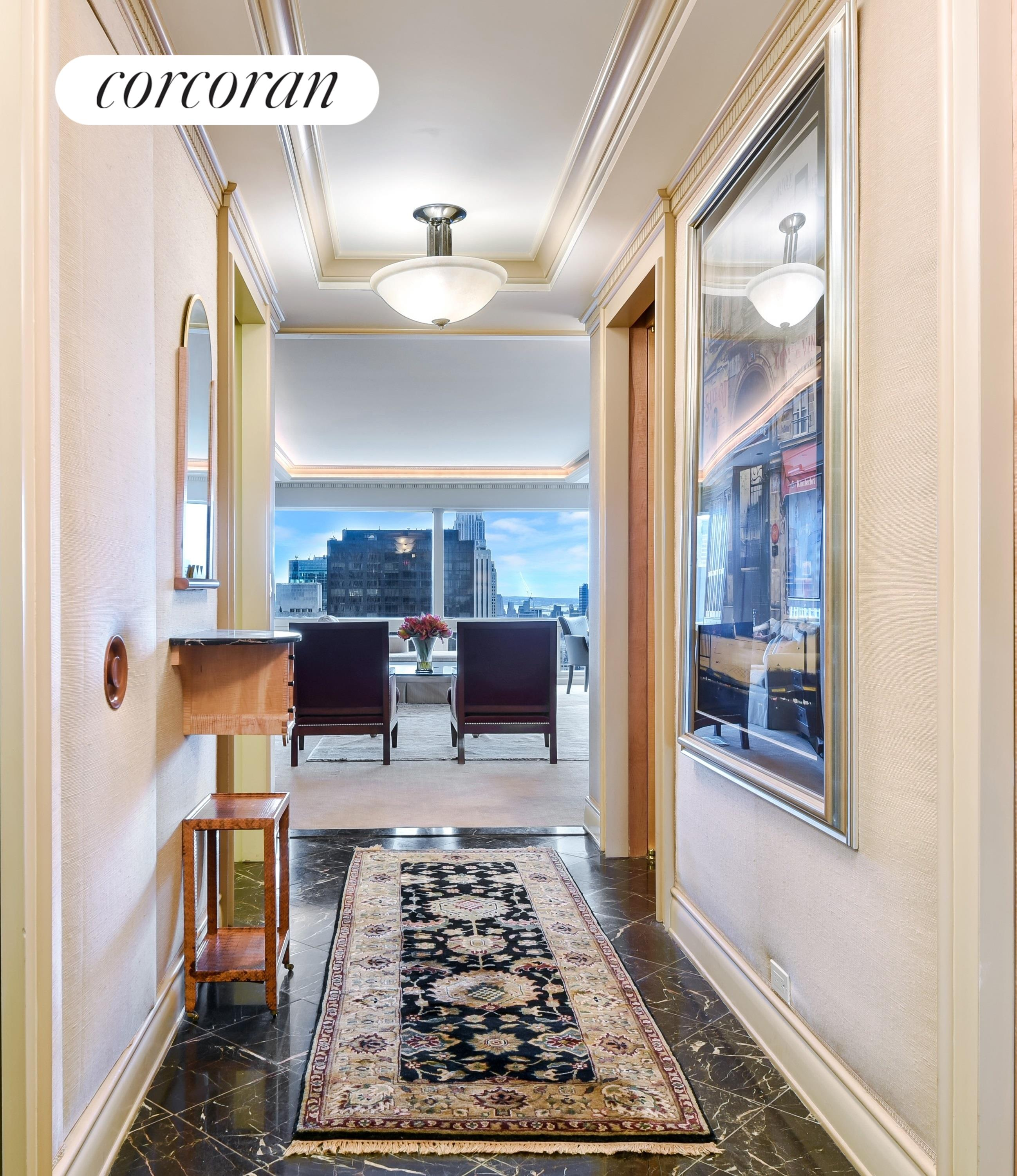 721 Fifth Avenue, 59A, Spacious Living/Dining Room with Views!