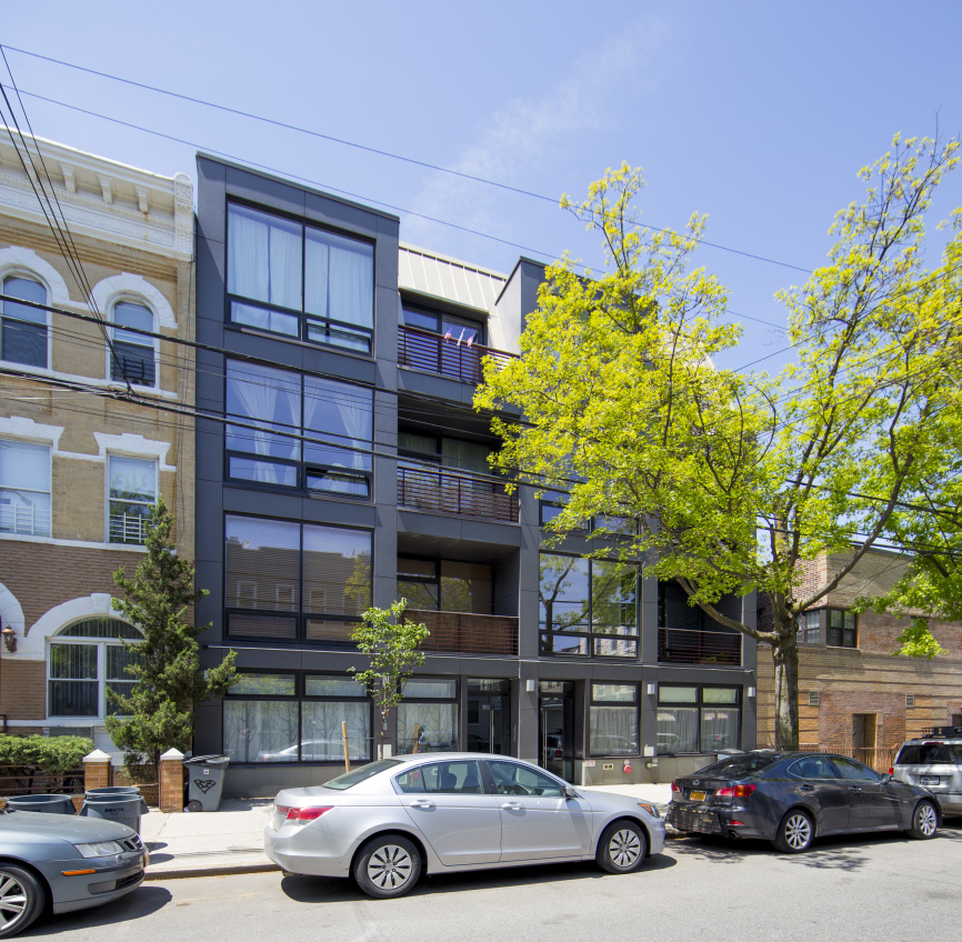 269 Kingsland Avenue, 2B, Living Room with Floor-To-Ceiling Windows!