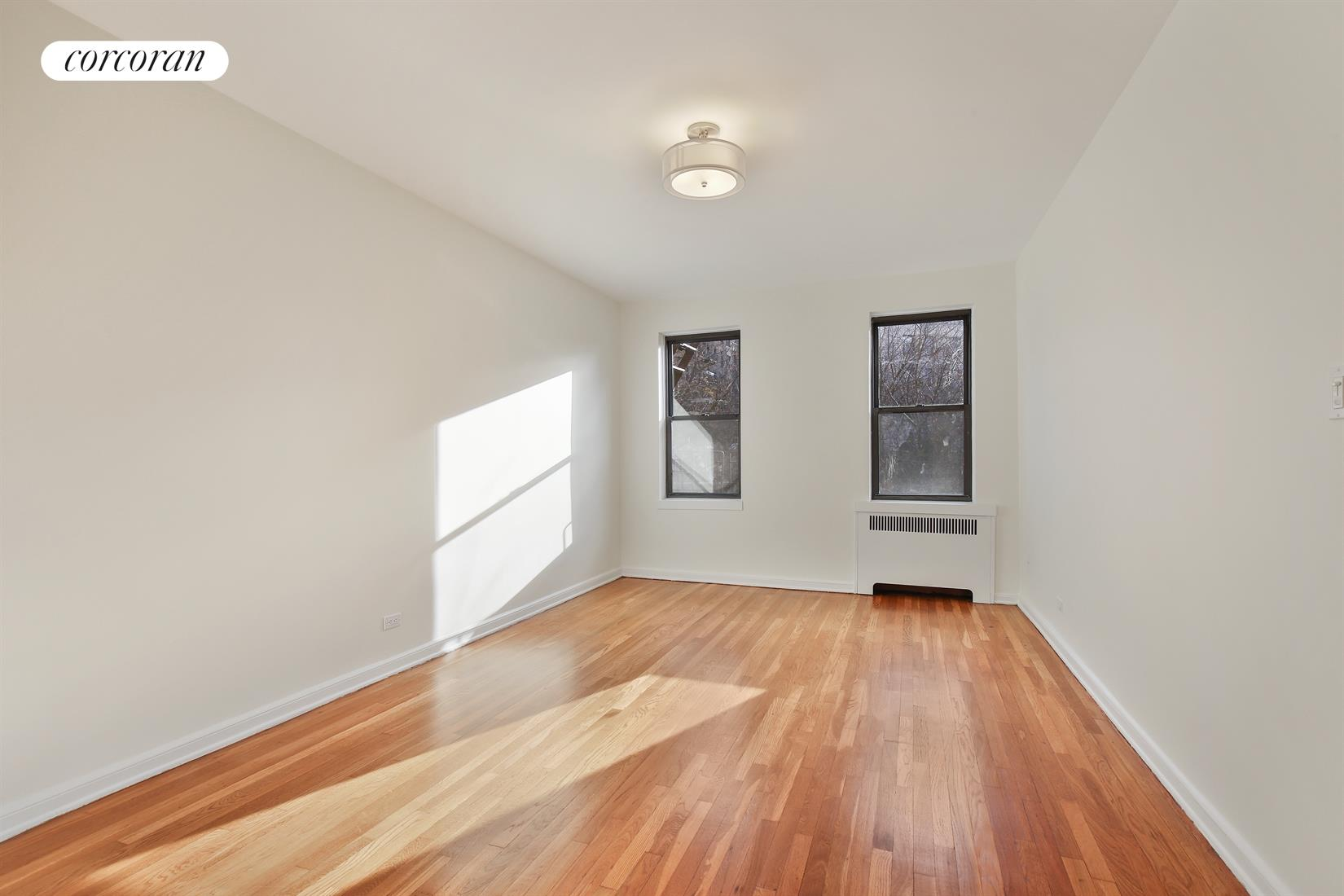 159-34 RIVERSIDE DRIVE WEST, 3F, Living Room Virtual Staged Option 1