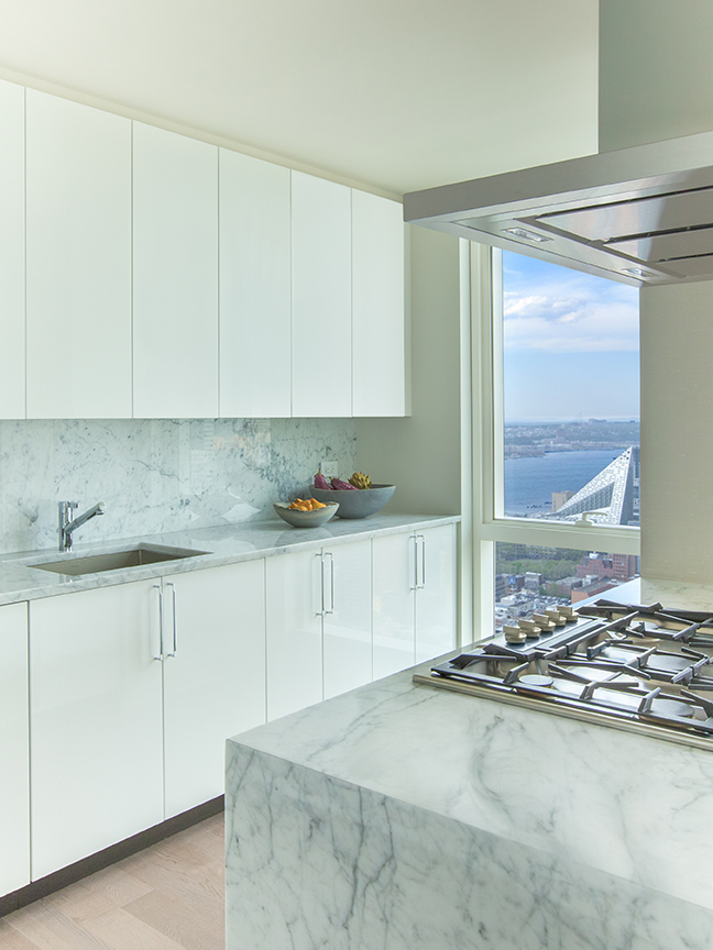 460 West 42nd Street, 55J, Kitchen