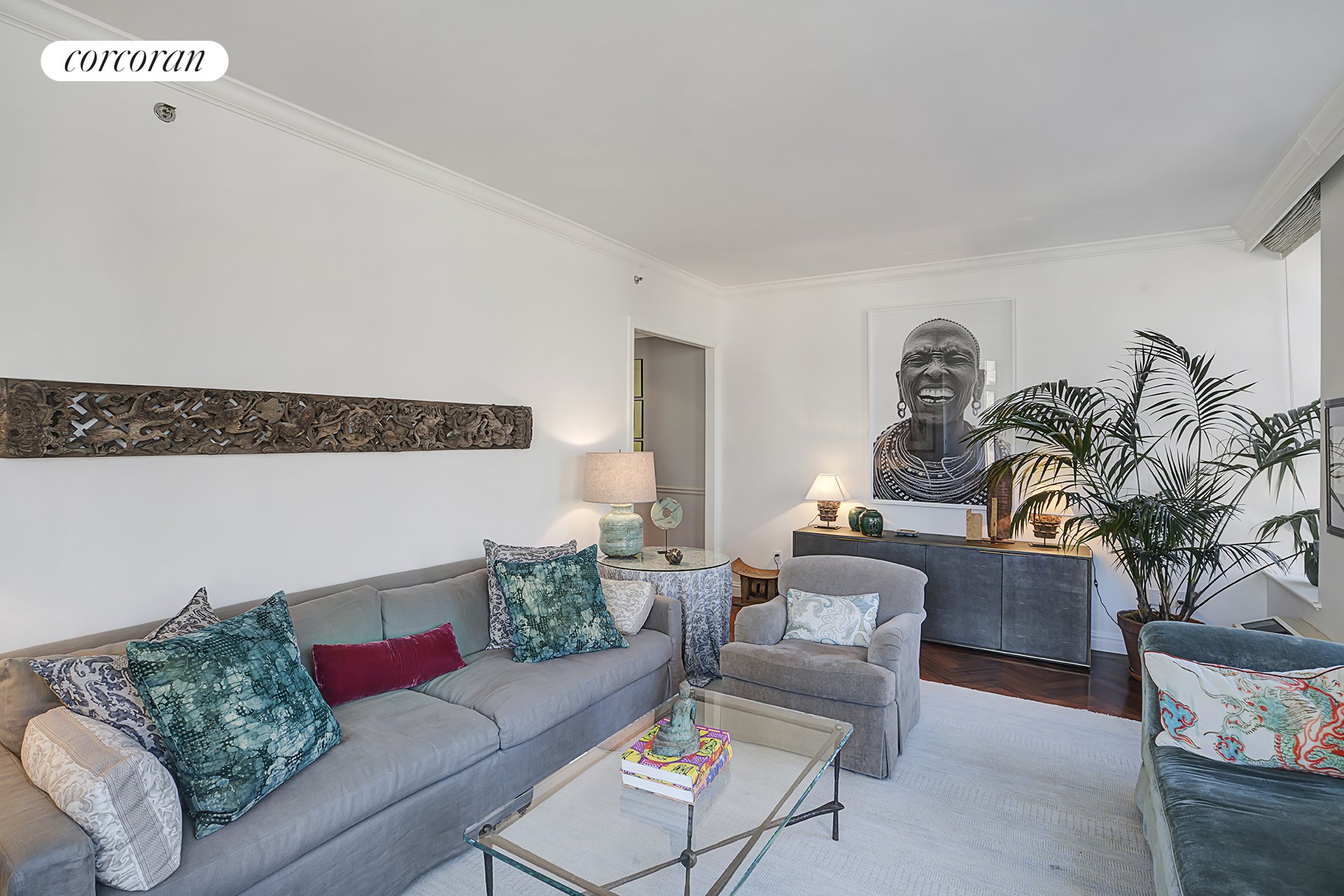 400 East 51st Street, 11A, Living Room