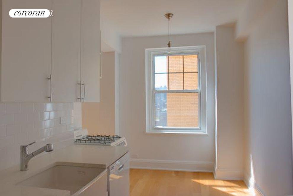 South facing windowed kitchen with dining alcove