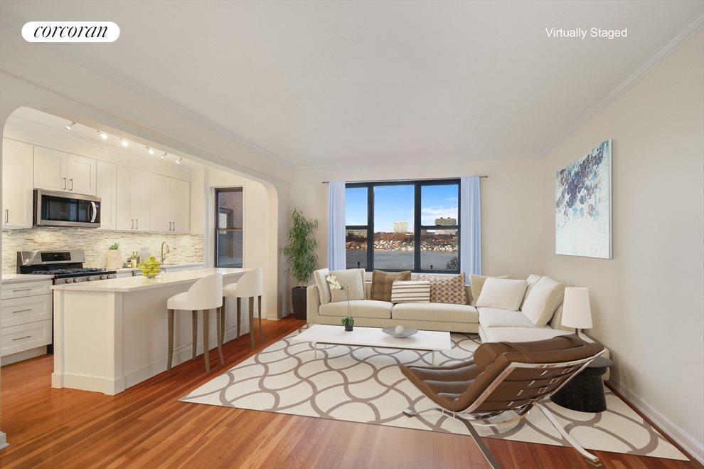 Living Room Virtual Staged Option 1