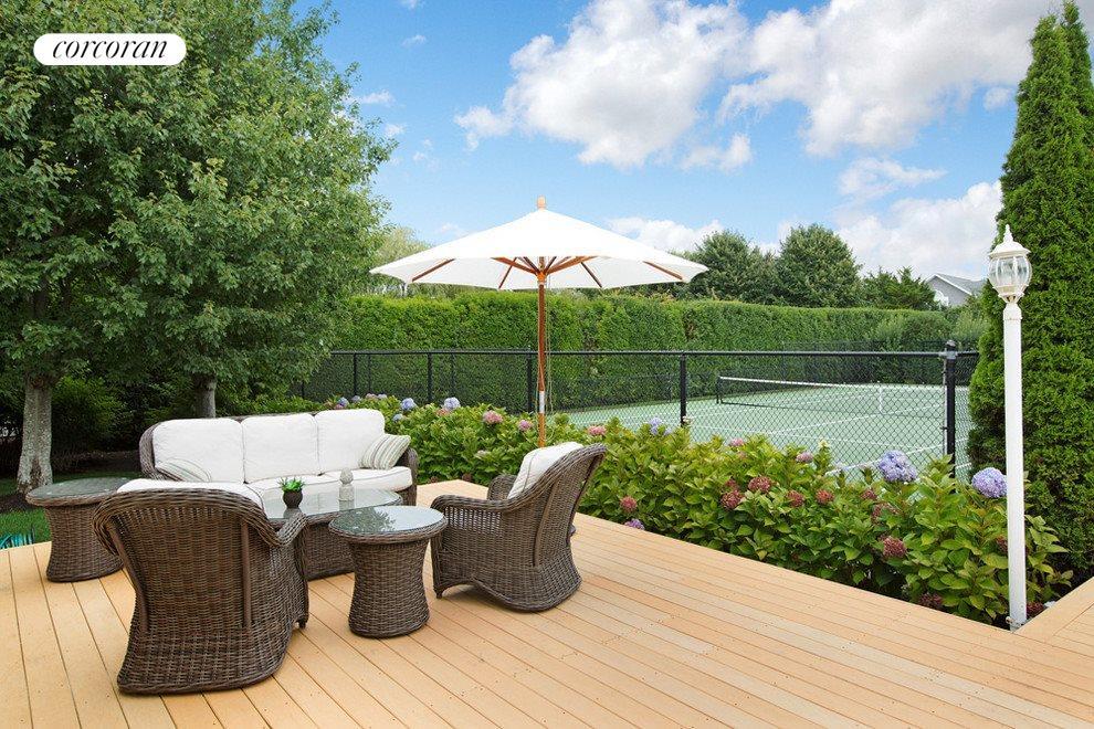 Deck by Hartru tennis court