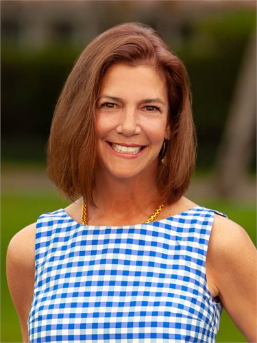 Wendy Bowes, a top realtor in South Florida for Corcoran, a real estate firm in Palm Beach.