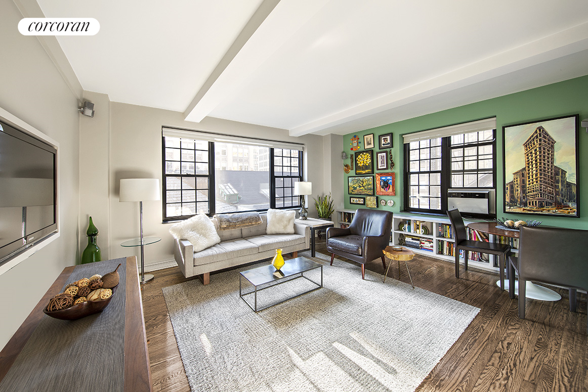 102 East 22nd Street, 7G, Living Room