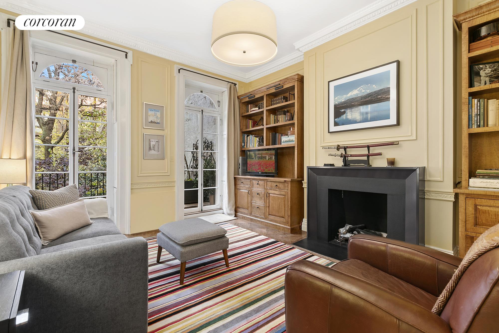 37 West 11th Street, front parlor