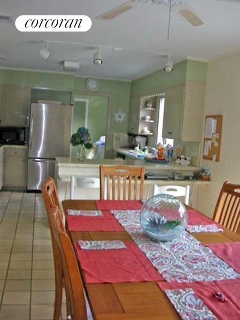 Open plan Dining area, Kitchen