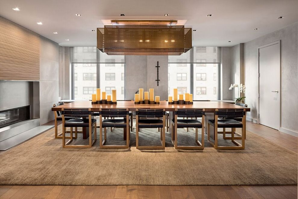 New York City Real Estate | View 360 East 89th Street, #18C | Residents Dining Room with Catering Kitchen