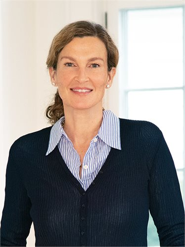 Felicitas Kohl, a top realtor in The Hamptons for Corcoran, a real estate firm in Southampton.