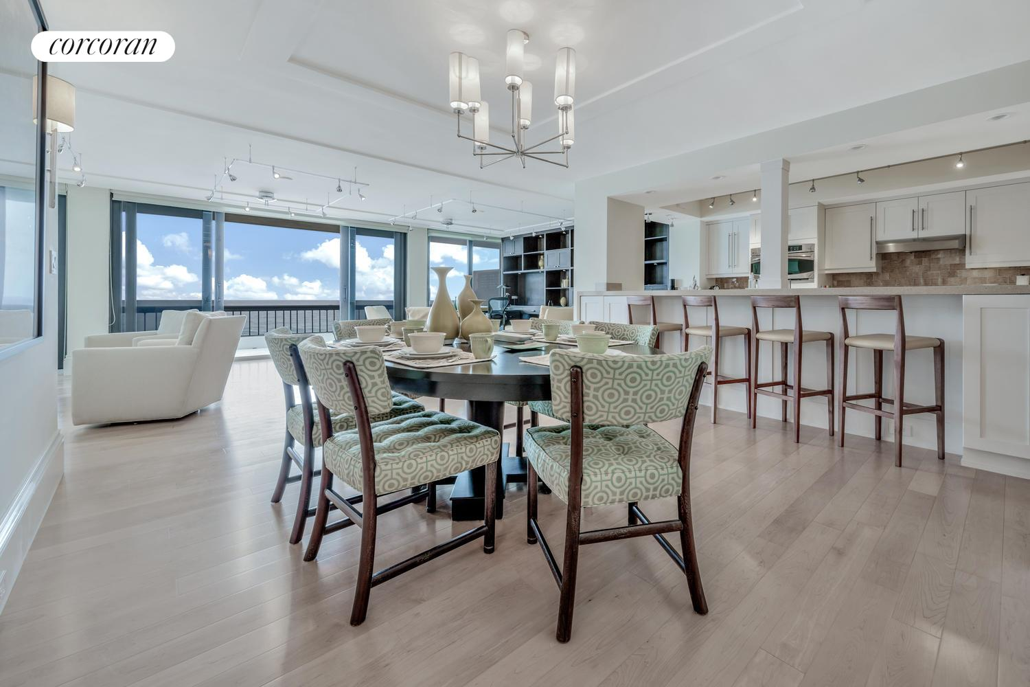 2660 South Ocean Boulevard 601N, Dining Area / Kitchen