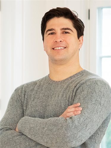 Michael Esposito, a top realtor in The Hamptons for Corcoran, a real estate firm in Bridgehampton.