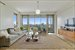 144 North 8th Street, 10B, Living Room with Manhattan View