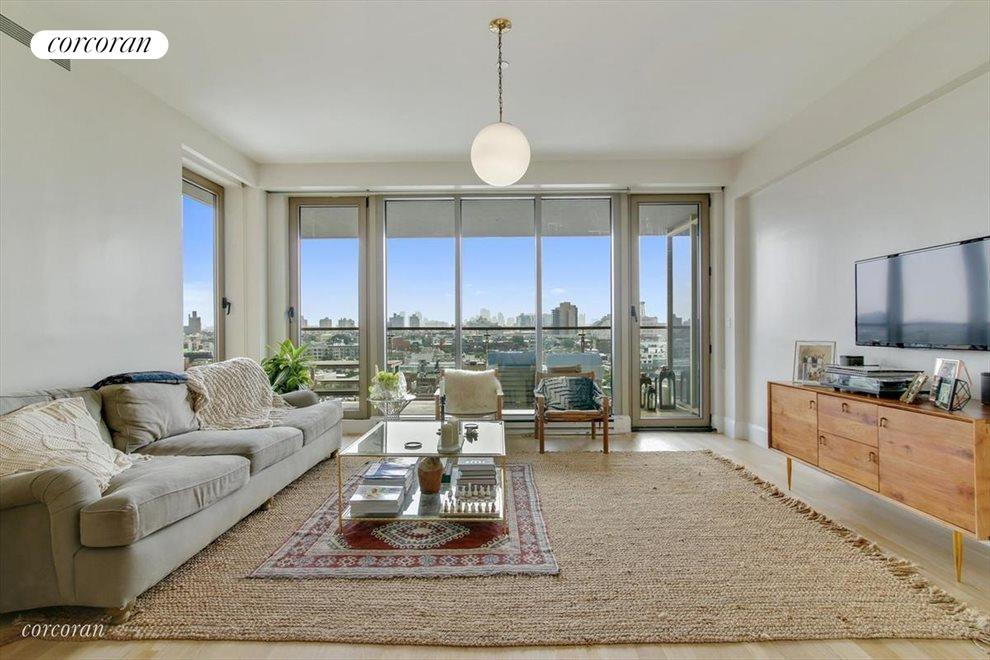 Living Room with Manhattan View