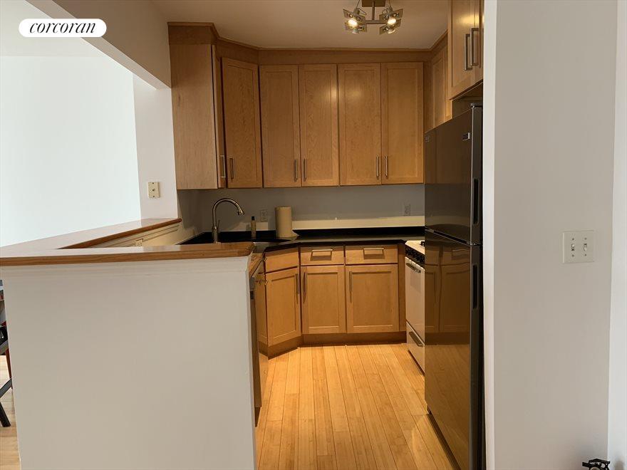 Kitchen w/ Dishwasher, Oven and Fridge