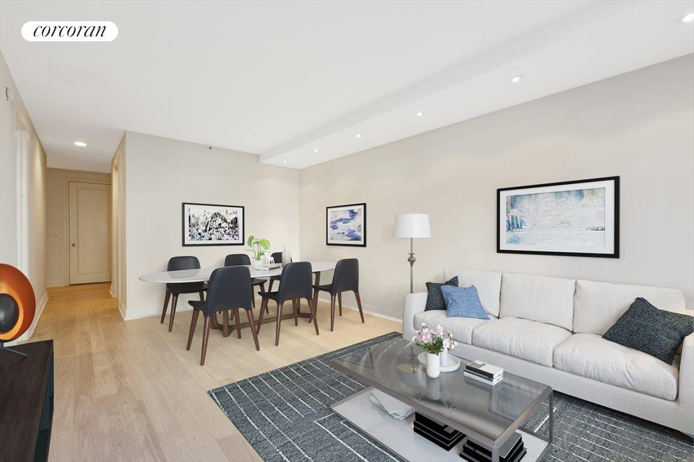 New York City Real Estate | View 400 East 51st Street, #7A | 1 Bed, 2 Baths