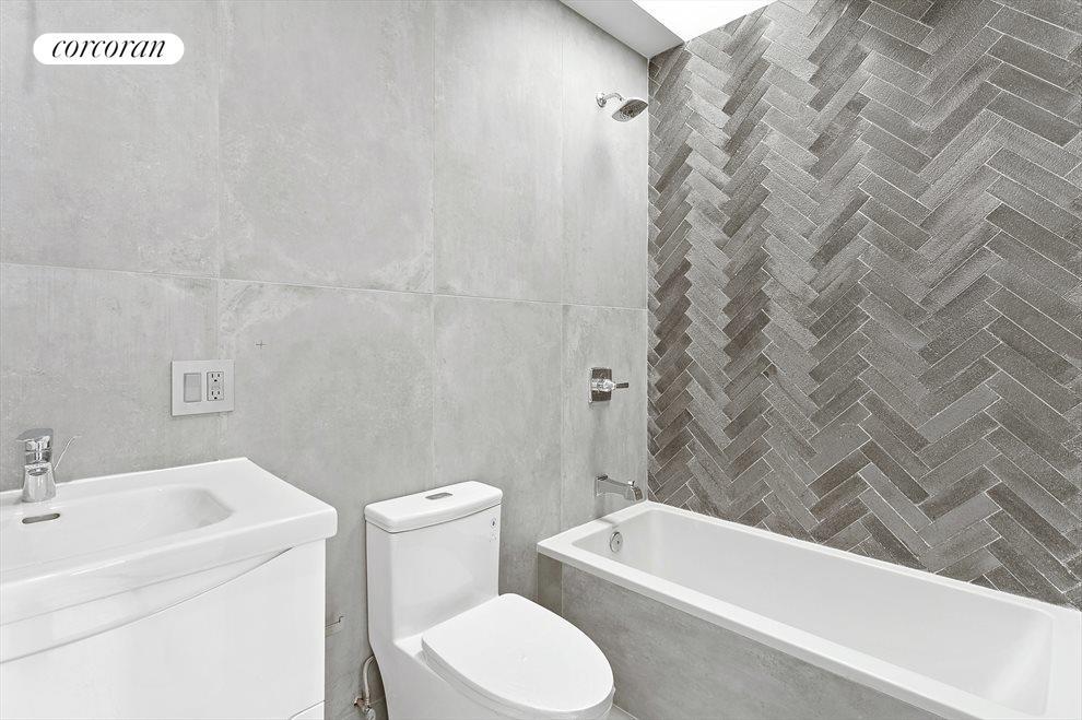 Elegant bathrooms!