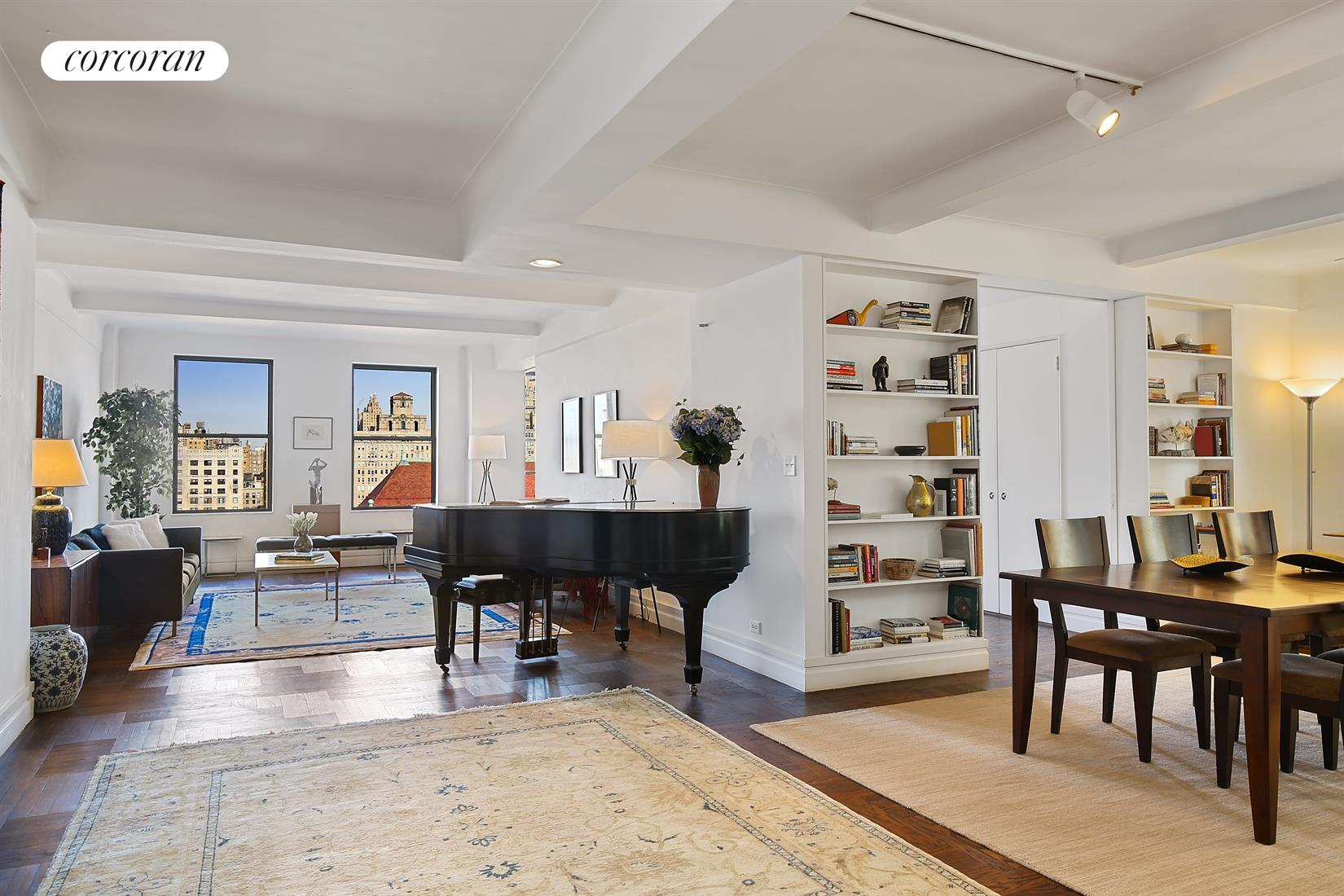 40 West 77th Street, 15F, Living Room