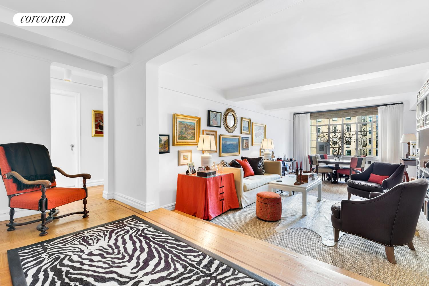 110 East 87th Street, 10C, Living Room
