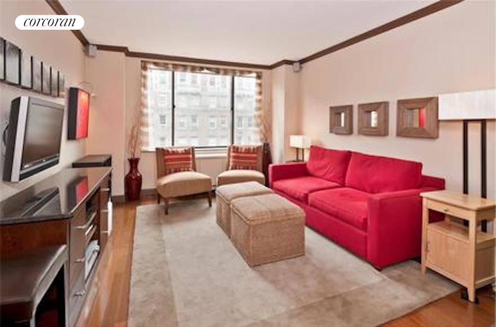 130 West 79th Street, 14D, Spacious north facing living room