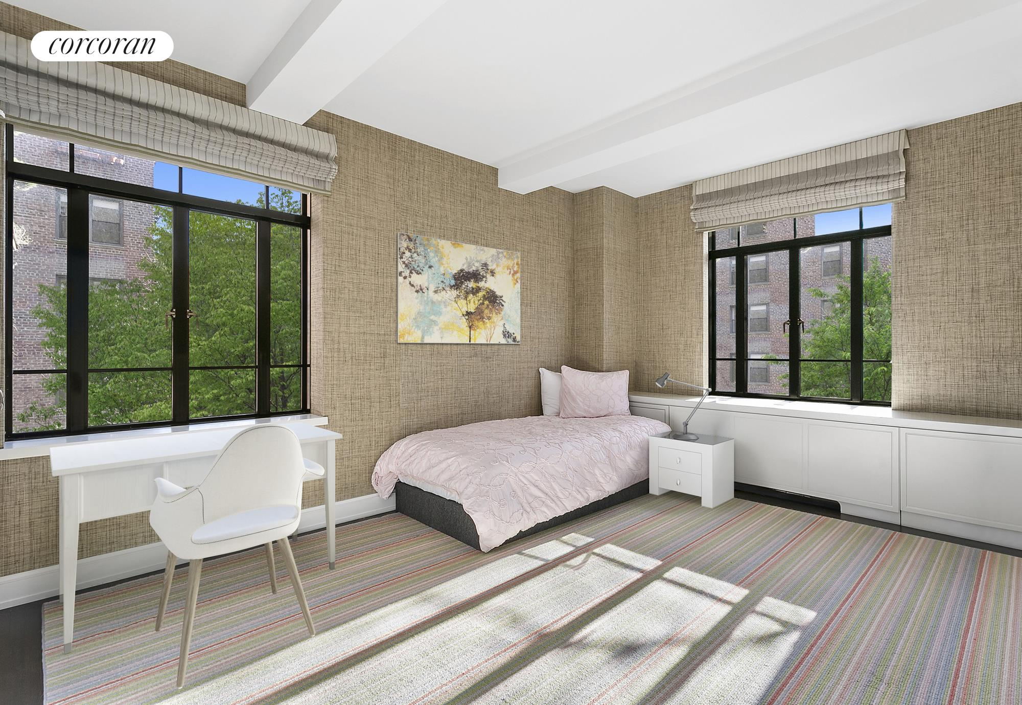 130 West 12th Street, 3C, living room