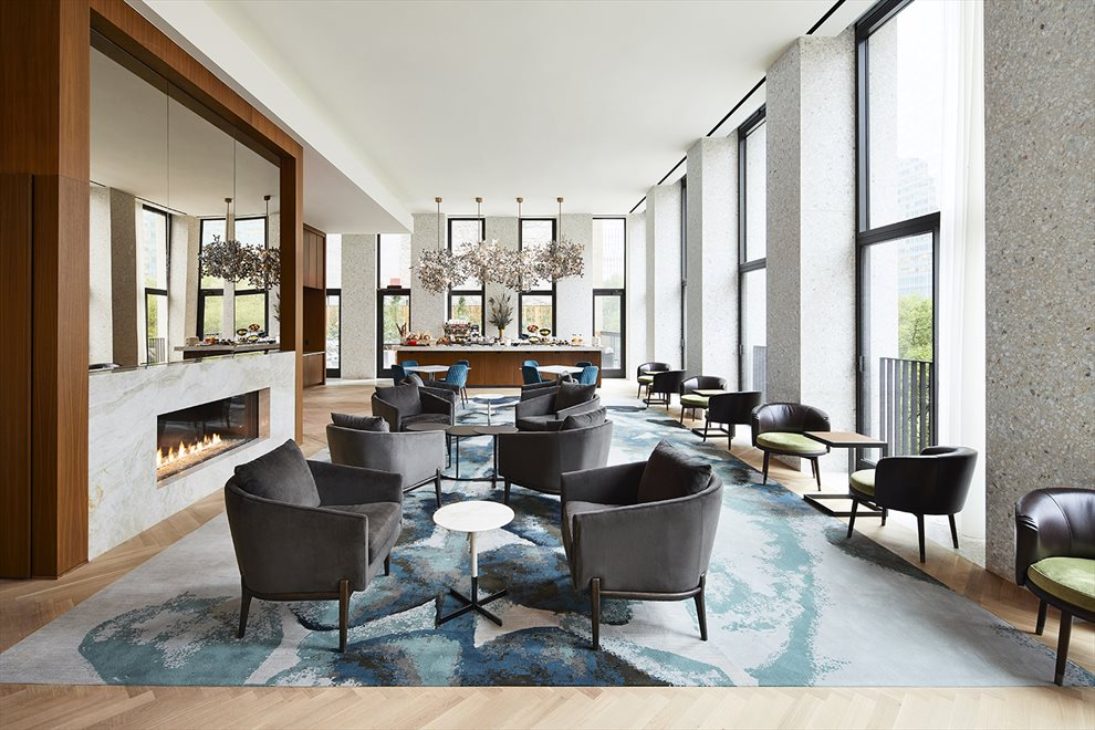 The Bryant  | 16 West 40th Street | Resident Lounge