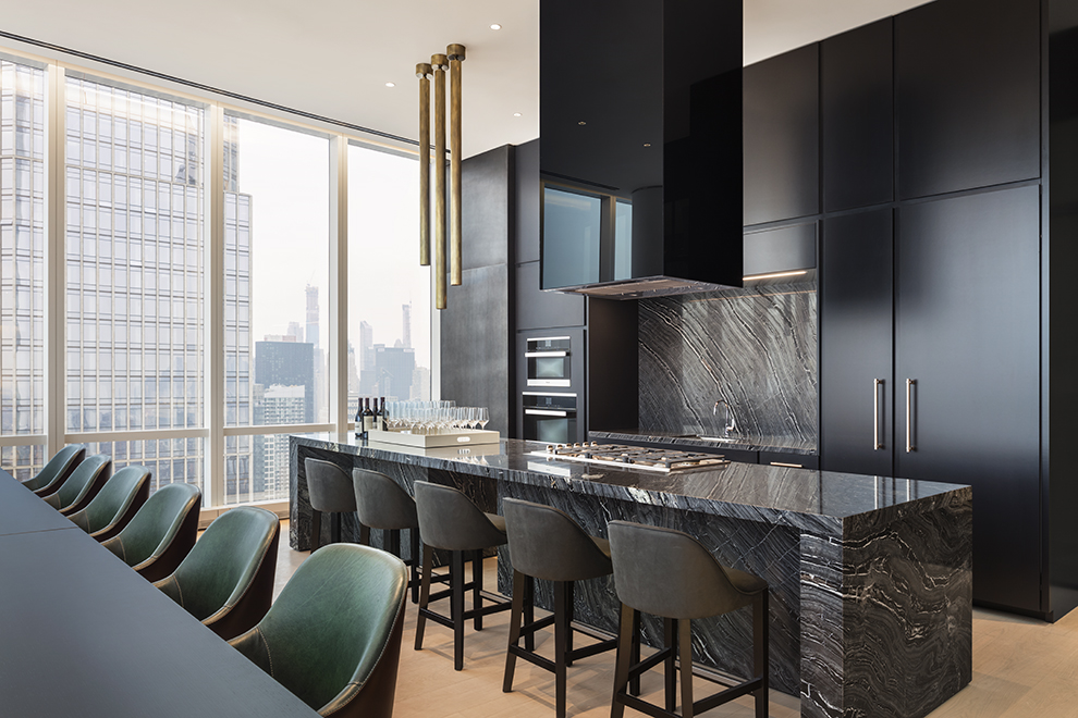 15 Hudson Yards, 37F, Living Room