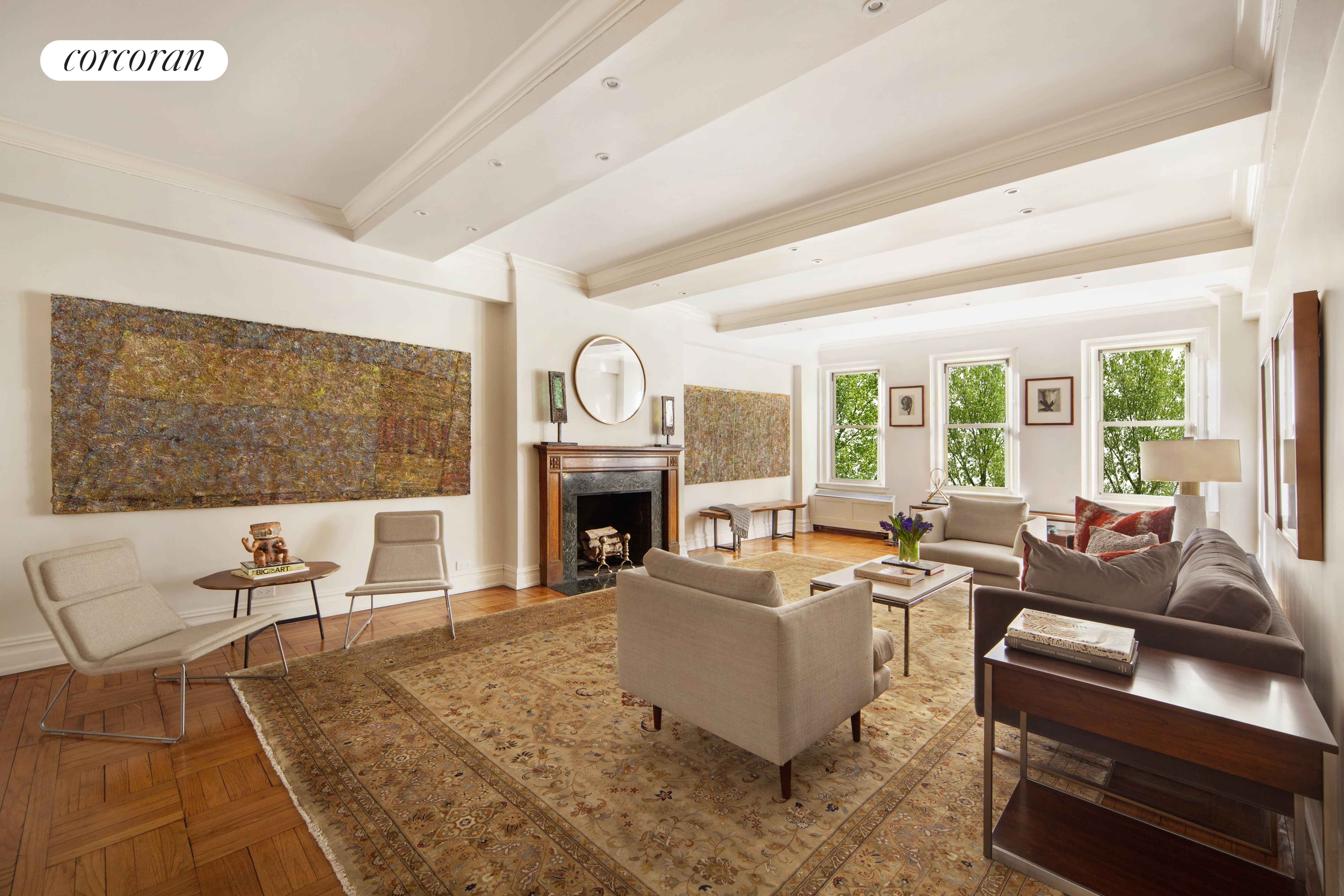 322 Central Park West, 2A, Stylish Prewar Details