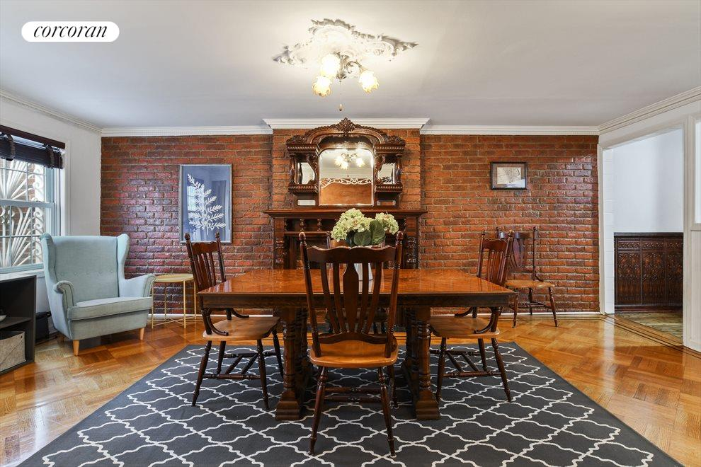 Classic first floor dining room off the kitchen