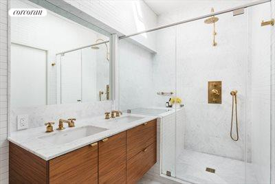 New York City Real Estate | View 90 Windsor Place | Master Bathroom