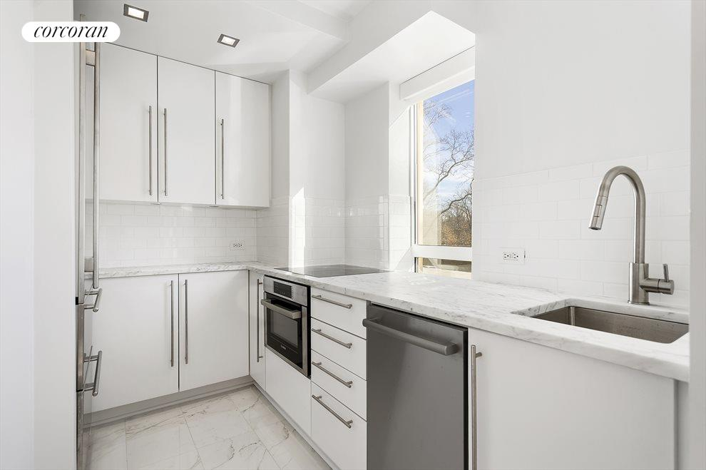 Renovated Kitchen with Central Park Views