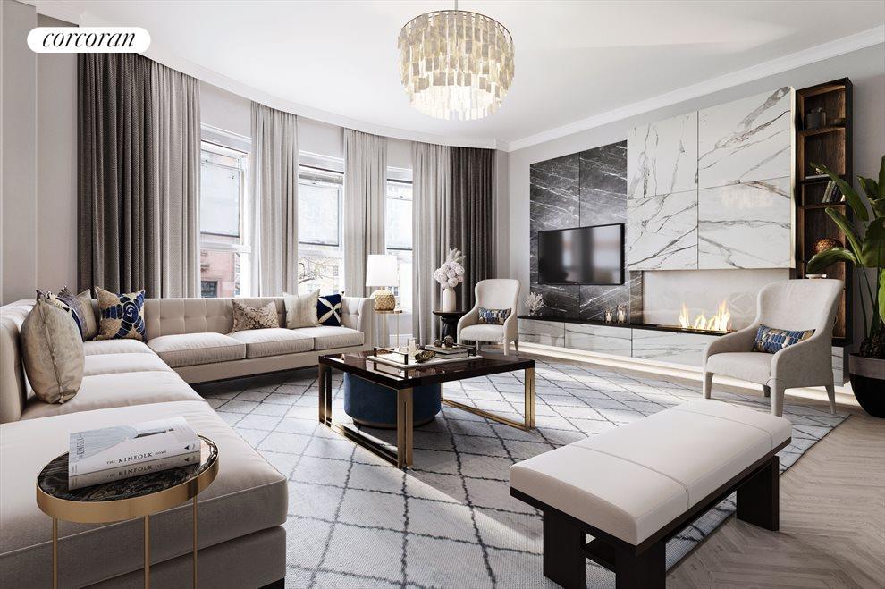 Virtual Rendering - Living Room