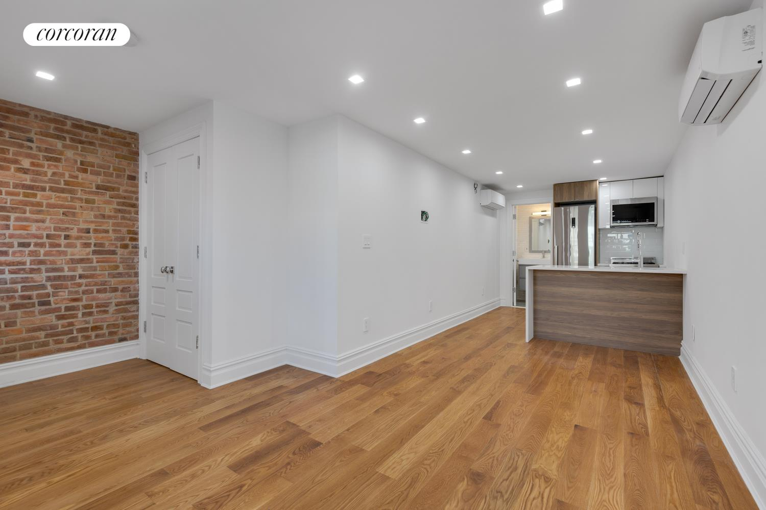 220 7th Street, Custom Inset Kitchen w/ 8' Waterfall Island