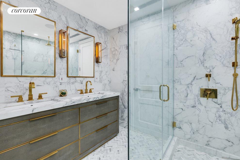 Statuary Italian Marbled Master Bath