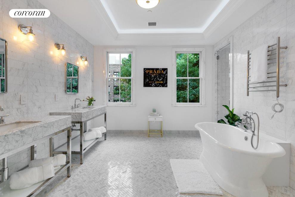 RADIANT HEATED MASTER BATHROOM