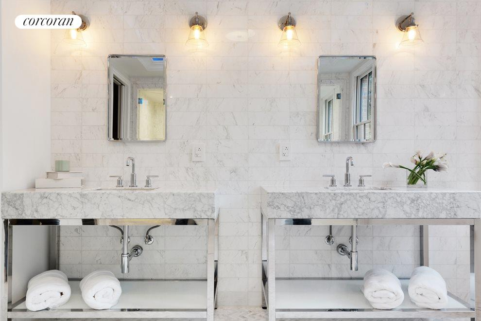 HIS & HER DUAL SINKS