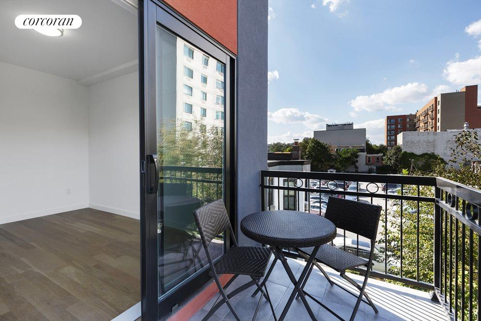 New York City Real Estate | View 511 Herkimer Street, #4B | Private Balcony