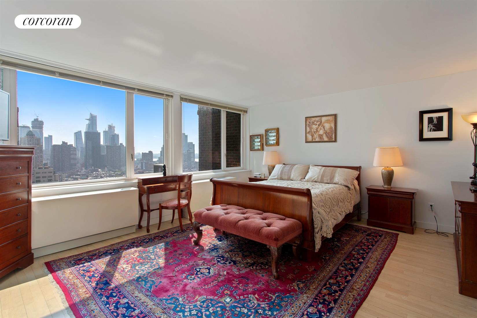 322 West 57th Street, 35B1, Living Room