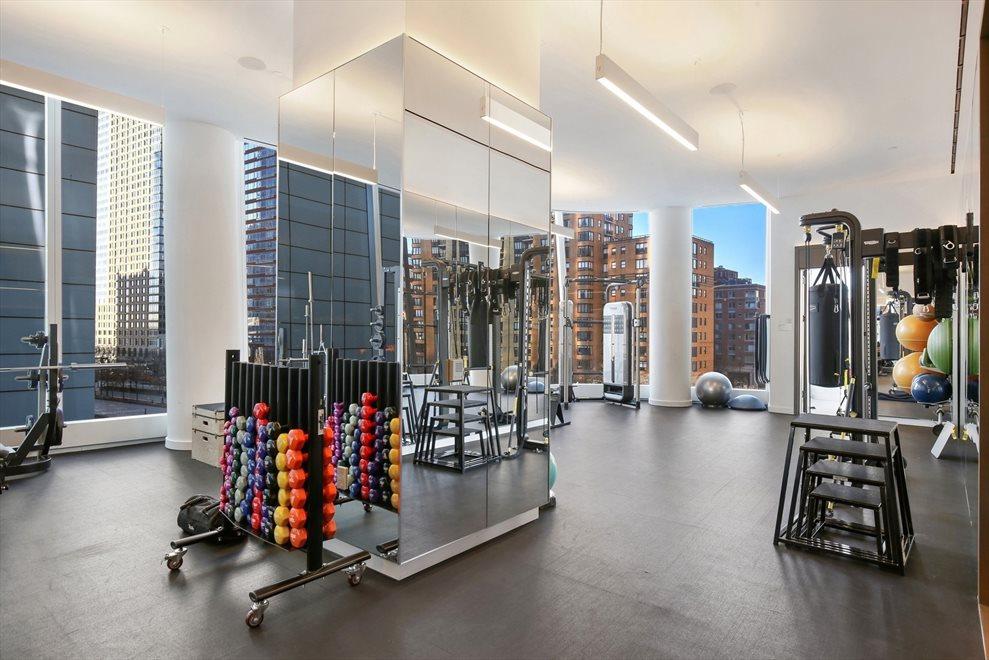 Full floor fitness area