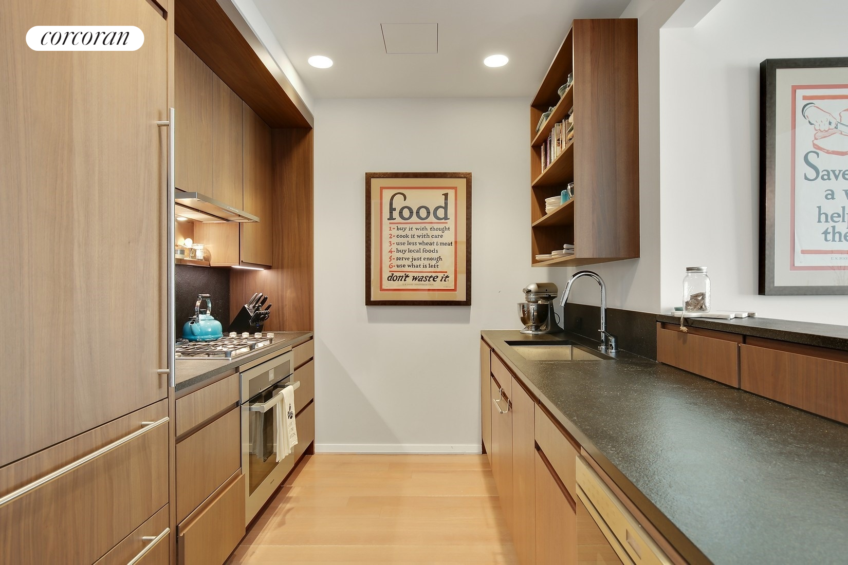 50 West Street, 10B, Open Chef's Kitchen