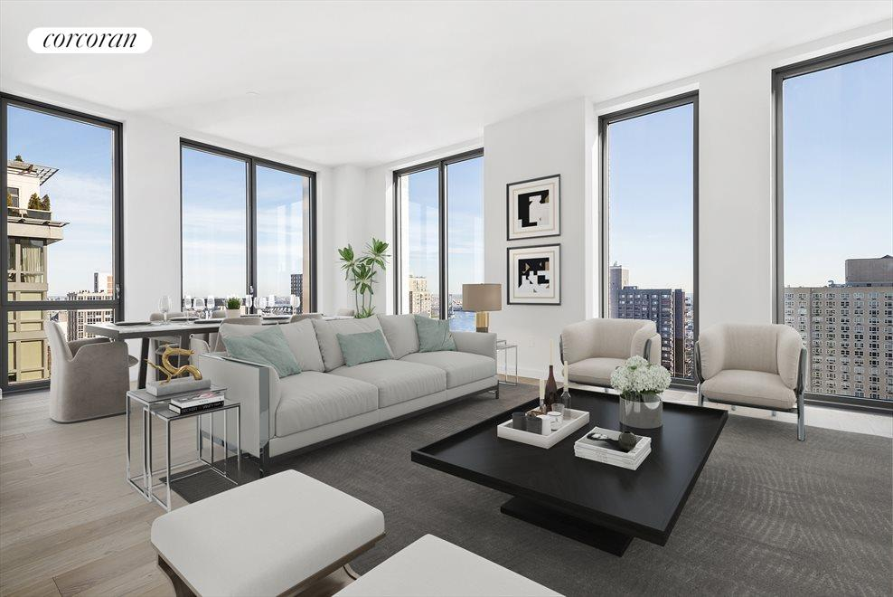 New York City Real Estate | View 360 East 89th Street, #28A | 4 Beds, 4 Baths