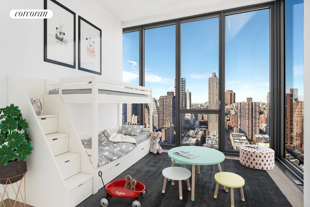 New York City Real Estate | View 360 East 89th Street, #28A | Third Bedroom