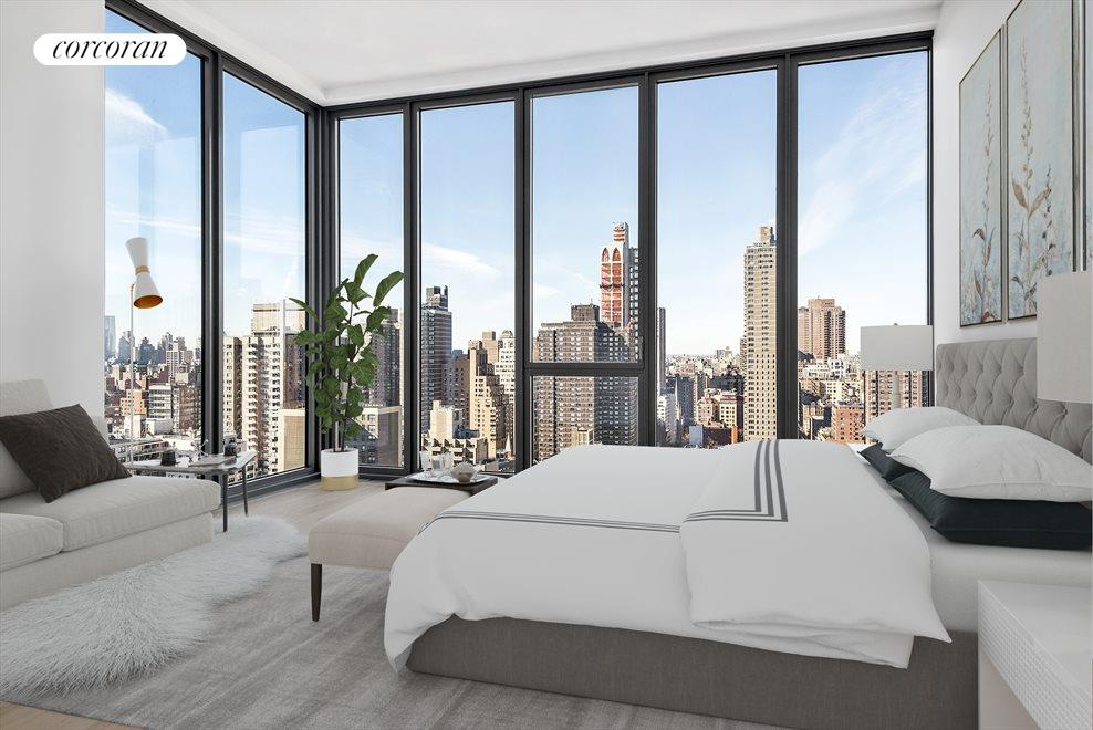 New York City Real Estate | View 360 East 89th Street, #28A | Master Bedroom