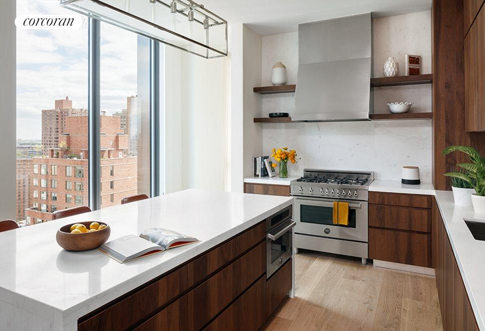 New York City Real Estate | View 360 East 89th Street, #28A | Eat-In Kitchen