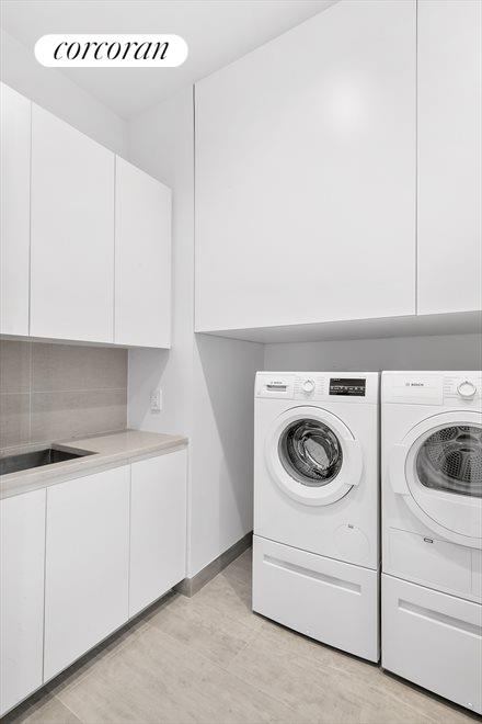 New York City Real Estate | View 360 East 89th Street, #28A | Laundry Room