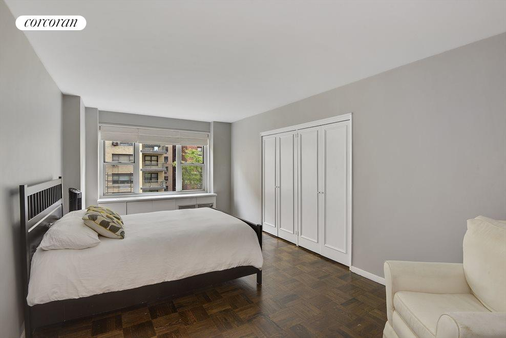 Spacious and Sunny Master Bedroom