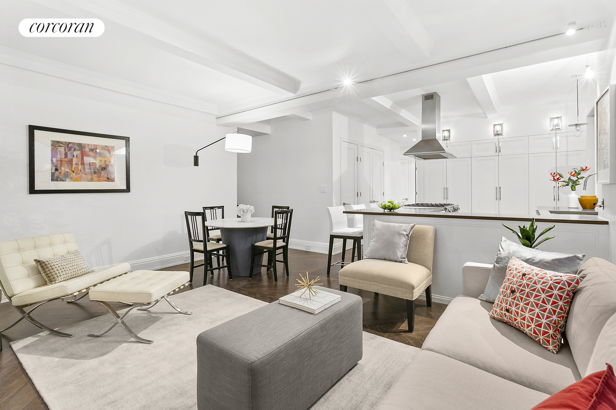 18 West 70th Street, 1C, Living Room