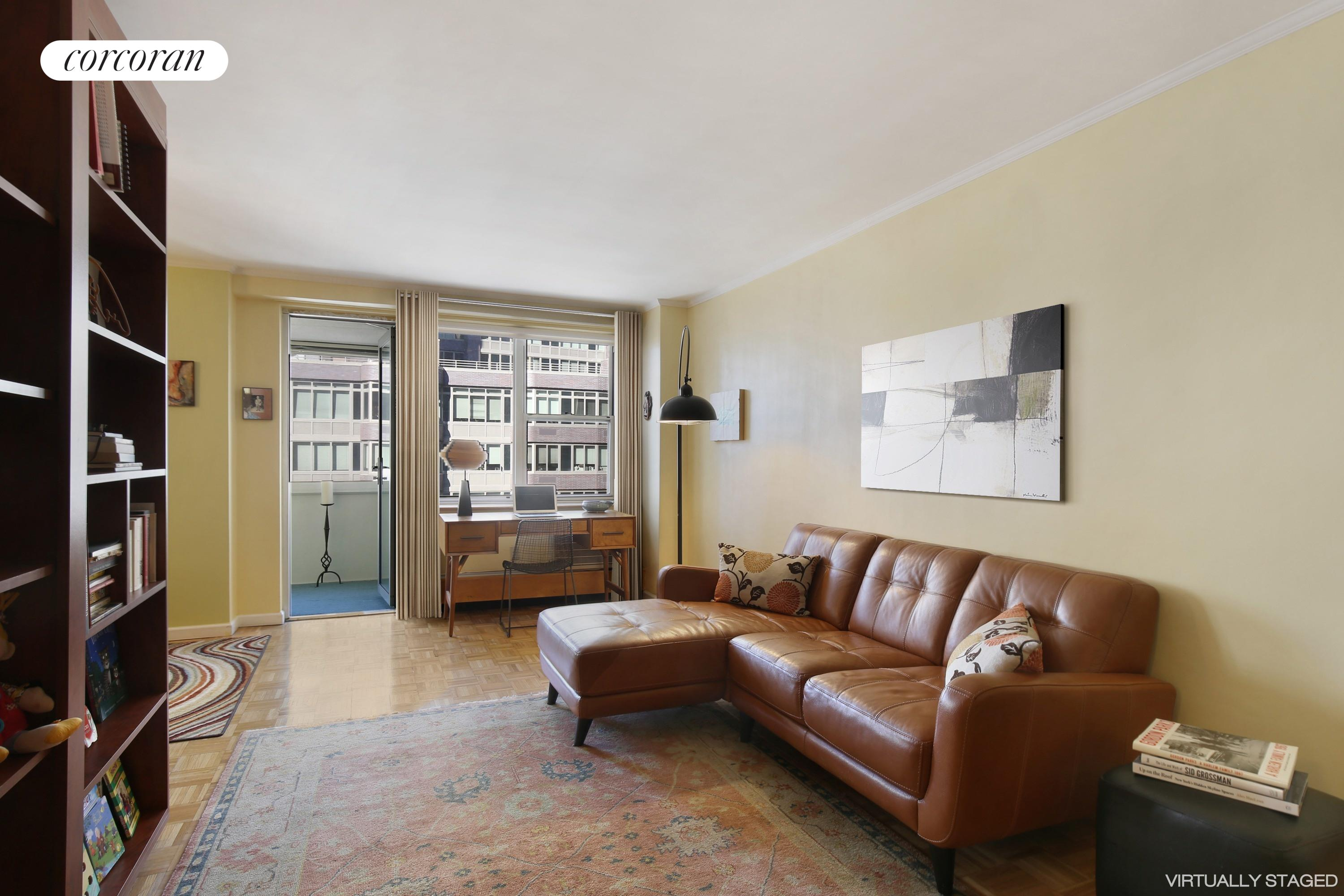 303 West 66th Street, 7EW, Enclosed, Sun-drenched Balcony